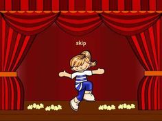 This is an engaging brain break and/or movement and music activity. Notes: The number of popcorn pieces on the stage floor indicate how many beats each actio. Kindergarten Music, Preschool Music, Music Activities, Teaching Music, Movement Activities, Music Lesson Plans, Music Lessons, Primary Lessons, Music Classroom