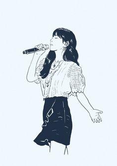 Girls' Generation Tts, Girl House, First Girl, Snsd, Female Art, Cool Art, Art Drawings, Anime Art, Fan Art