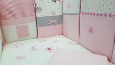 Retro, Lüx, Bebek Uyku Seti, Pembe, Luxury, Baby Bedding Set, Pink Baby Music, Baby Bedding, Retro, Videos, Pink, Gifts, Presents, Crib Bedding, Favors