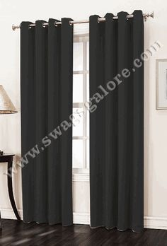 Hayworth is a solid crushed room darkening drapery with easy to hang stainless steel grommets, enhance the appearance of your window decor with these easy to hang grommet curtains.