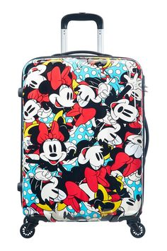 Disney by American Tourister Legends Spinner Alfatwist Koffer, 32 Liter, Mickey Pop Best Luggage, Travel Luggage, Disney Luggage, Cabin Suitcase, Cute Suitcases, College Bags, Disney Home, Mini Things, Girls Bags