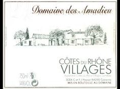 """Résultat de recherche d'images pour """"vins rhone village"""""""