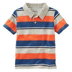 Toddler Boy OshKosh B'gosh® Striped Polo, Size: 4T, Ovrfl Oth