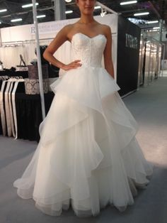 This Lis Simon gown is gorgeous AND under $2,000! | Top Picks from New York Bridal Fashion Week! | Little White Dress Bridal Shop: Denver Bridal Gowns & Wedding Dresses