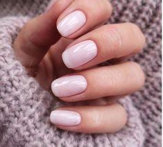 paznokcie hybrydowe Mani Pedi, Manicure, Lines On Nails, Nail Ring, Pastel Nails, Nail Designs, Shapes, Pink, Beauty