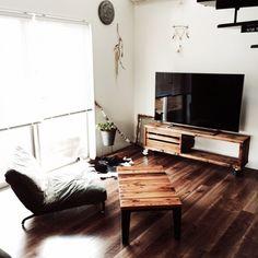 テレビだってナチュラルにお部屋と馴染ませるテレビボードの選び方簡単DIY術