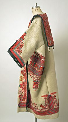 Hungary - wool coat, ca. 1900-1939