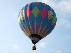 photos of hot air balloons   Colourful Hot Air Balloon - Desktop Wallpaper