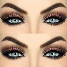 Contour Makeup, Kiss Makeup, Eyeshadow Makeup, Makeup Cosmetics, Makeup 101, Makeup Goals, Beauty Makeup, Makeup Ideas, Bridal Hair And Makeup