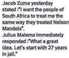 Jacob Zuma... African Jokes, Jacob Zuma, Minding Your Own Business, Nelson Mandela, Calvin And Hobbes, South Africa, Funny Memes, Let It Be, Feelings