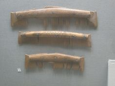 Combs at the National Museum of Ireland.