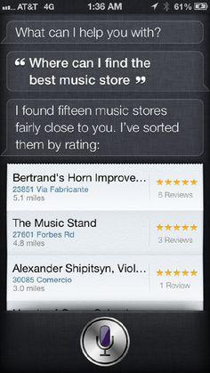 Haha #Siri knows best!