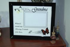 8x10 Grandmother Inspired Framed Photo by SapphireCustomPhotos, $17.00