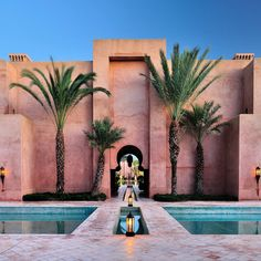 Can this be my palace? Striking architecture and serene atmosphere at #amanjena in #Marrakech #travel #Morocco #changeworlds #realtravel
