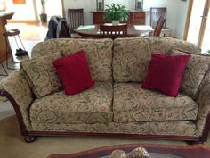 Lovely Couch and Chair - Selling this couch and chair also the 3 tables. All are in g... #ReferLocal