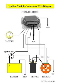Automotive Wiring Diagram Resistor To Coil Connect To Distributor - Vw distributor wiring diagram