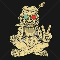 Hippies Weed Style