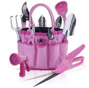 "Pink Garden Tools & Gift Sets ""Garden For The Cause"" Garden Tools Huge Selection From The Pink Superstore - Yard and Garden Decor From The Pink Superstore Container Plants, Container Gardening, Gardening Tools, Plant Design, Garden Design, Garden Tool Set, Pink Garden, Dream Garden, Shops"