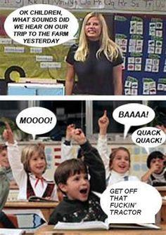 LOL.. made me giggle!
