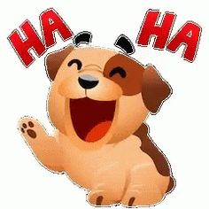 The perfect Hahaha Dog Laugh Animated GIF for your conversation. Animated Emoticons, Funny Emoticons, Funny Cartoons, Animated Gif, Emoji Pictures, Emoji Images, Funny Images, Funny Pictures, Love Smiley