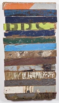 another pinner: Driftwood assemblage Now I have an idea for all that reclaimed wood I have.