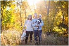 Family Photo Ideas, Kandid Kate Photography, Family of Four Pose, Colorado Springs Portrait Photographer