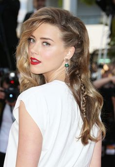 Amazing hair, Amber Heard!