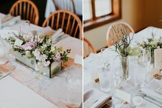 Lavender centerpieces  Jacoby Photo and Design / St. Louis wedding photography / Makanda Wedding / Lavender Wedding