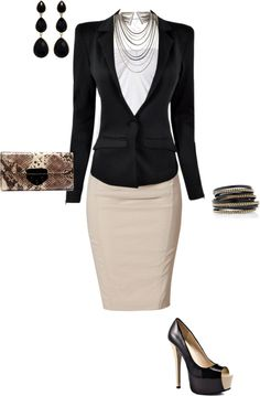 want this outfit :D Neue Outfits, Office Outfits, Chic Outfits, Fashion Outfits, Womens Fashion, Office Wear, Office Fashion, Work Fashion, Fashion Looks