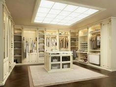Room Closet, Walk In Closet, Closet Island, Big Closets, Closet Designs, Custom Cabinetry, Master Suite, House Tours, Wordpress