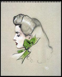 Dita von Teese by Olivia
