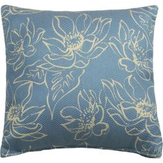 Cozy up on the patio chaise or add an inviting touch to the lanai with this versatile pillow, showcasing a floral print.  Product: