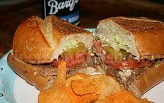Mississippi Roast Beef Po'Boy with Gravy