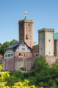 Wartburg Castle in Germany Europe Travel Tips, Travel Guides, Travel Plan, European Destination, European Travel, Wonderful Places, Beautiful Places, Germany Castles, South Beach Miami