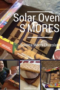 Need a fun edible science experiment? Solar Oven Smores are the perfect summer activity for kids.