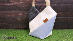 DIY WINDMILL TOTE BAG Bag Pattern Free, Bag Patterns To Sew, Beach Bag Tutorials, Diy Handmade Bags, Saree Tassels Designs, Diy Tassel, Simple Bags, Couture, Bag Making