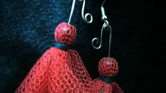 Items similar to Cute Pink Tutu Earrings. Handmade on Etsy Pink Tutu, Cute Pink, Crochet Earrings, Tulle, Drop Earrings, Metal, Crafts, Handmade, Fashion