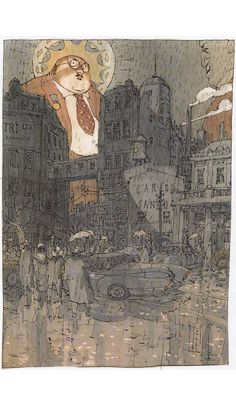 Nicolas de Crecy 500 DESSINS