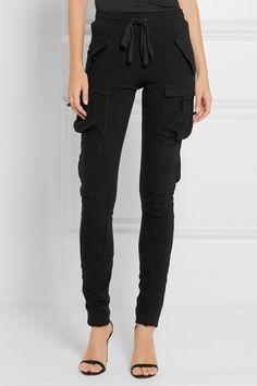 Haider Ackermann   Stretch cotton-blend leggings   NET-A-PORTER.COM