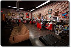 Stopped in at Miami Ink to buy a t-shirt for Brendyn