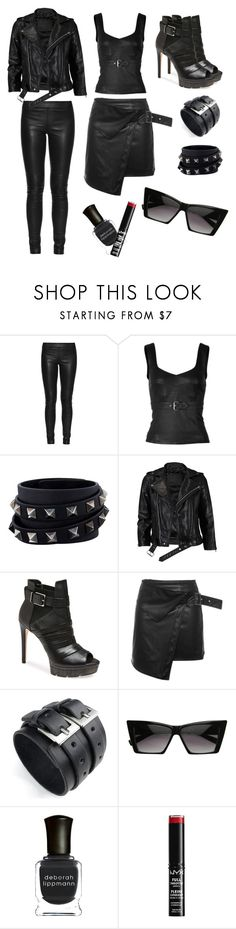 """""""Overwatch: Reaper"""" by grungyandinbloom ❤ liked on Polyvore featuring The Row, McQ by Alexander McQueen, Valentino, VIPARO, BCBGMAXAZRIA, Epic, Deborah Lippmann and NYX"""