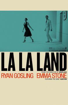 US teaser one sheet for LA LA LAND (Damien Chazelle, USA, 2016). Designer: LA.