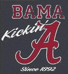 Kickin it Bama style Sec Football, Crimson Tide Football, Alabama Crimson Tide, College Football, Football Stuff, Alabama Baby, Football Baby, Football Memes, Alabama Football Shirts
