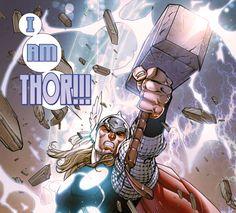 I AM THOR!!!