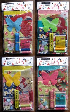 Sewing kit / crafting kit by lucypatterson on Etsy, $9.00