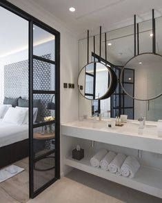 60 awesome open bathroom concept for master bedrooms decor ideas Hotels Design, Hotel Bathroom Design, Hotel Room Design, House Design, Bathroom Interior, Bathrooms Remodel, Master Bedrooms Decor, Hotels Room, Bathroom Design