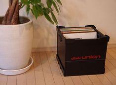 DUレコードコンテナ(LPサイズ)/プラスチックダンボール/軽くて、丈夫なレコード収納ボックス|CD・レコードアクセサリー|ディスクユニオン・オンラインショップ|diskunion.net Hamper, Organization, Decor, Getting Organized, Organisation, Decoration, Tejidos, Decorating, Deco