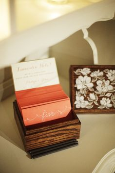 Photo via Project Wedding A place to leave love notes