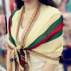 Pashmina scarf Fashion silk women scarf twill neckerchief Chiffon Scarves tippet for Women Only Fashion, Womens Fashion, Chiffon Shawl, Neckerchiefs, Pashmina Scarf, Women Brands, Scarf Styles, Womens Scarves, Print Design