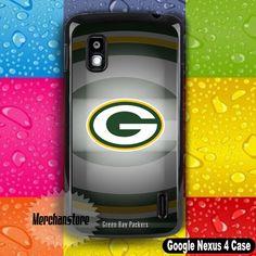 Green Bay Packers NFL American Football Team Logo Google Nexus 4 Case